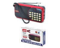 Приемник Joc JOC H988BT аккумуляторный AUX/USB/microSD до 32Гб, Bluetooth, питание: от аккумулятора 18650 (в комплекте)