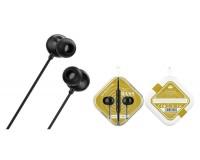 Наушники с микрофоном Borofone BM45 Sound wave внутриканальные, кабель 1, 2м, коробка, черный