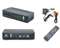 Цифровой телевизионный ресивер Орбита OT-DVB24 DVBT2/C + медиаплеер HD 1080p, Wi-Fi: требуется внешний USB адаптер (совместим с чипами MT7601), внешний блок питания