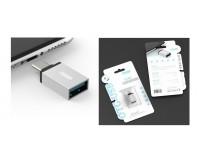 Переходник EZRA OC05 штекер TYPE-C - гнездо USB 3.0, коробка,