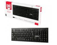 Клавиатура SmartBuy SBK-115-K USB Black 104 клавиши мультимедийная