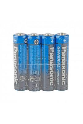 Батарейка Panasonic R3 Shrink 4 GENERAL Purpose