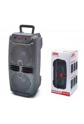 Акустическая система mini MP3 Орбита JBK-6525 10Вт Bluetooth, MP3, FM, microSD, USB, microUSB, AUX 3.5mm, аккумулятор 3.7V/1500mA черный