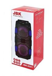 Акустическая система mini MP3 Орбита JBK-8501 10Вт Bluetooth, MP3, FM, microSD, USB, microUSB, AUX 3.5mm, аккумулятор 3.7V/2400mA красный