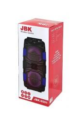 Акустическая система mini MP3 Орбита JBK-8501 10Вт Bluetooth, MP3, FM, microSD, USB, microUSB, AUX 3.5mm, аккумулятор 3.7V/2400mA синий