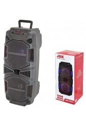 Акустическая система mini MP3 Орбита JBK-8501 10Вт Bluetooth, MP3, FM, microSD, USB, microUSB, AUX 3.5mm, аккумулятор 3.7V/2400mA черный