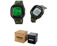 Часы наручные Skmei 1580 электронные (дата, будильник, секундомер), пластик, подсветка