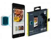 Держатель Deppa 55154 Mage Flat XL для смартфона, 8 неодимовых магнитов, в комплекте: 3M двусторонний скотч, Возможность поворота устройства на 360° черный