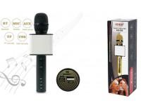 Микрофон SDRD SD-08 беспроводной, Bluetooth 4.0, аккумулятор 2200mAh, черный