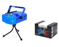 Световая установка Огонек OG-LDS06 лазер зелёный 532 нм, красный 650нм, плеер, USB/SD, датчик звука, синий