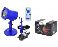 Световая установка Огонек OG-LDS08 Лазерный диод: зелёный 532 нм(50mW), красный 650нм (100mW), IP65, помещение и улица, синий