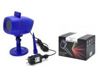Световая установка Огонек OG-LDS10 Светодиод 6 Вт, 3 слайда, IP65, помещение и улица, синий