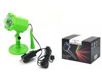Световая установка Огонек OG-LDS11 Светодиод RGB 6 Вт, IP65, помещение и улица, зеленый