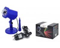 Световая установка Огонек OG-LDS11 Светодиод RGB 6 Вт, IP65, помещение и улица, синий