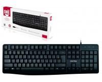 Клавиатура SmartBuy SBK-207US-K USB Black 104 клавиши+12 дополнительных клавиш,