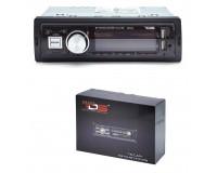 Автомагнитола TDS TS-CAM11 USB/microSD (до 32 ГБ)/AUX/FM/Bluetooth, 12В, коробка