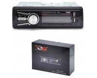 Автомагнитола TDS TS-CAM12 USB/microSD (до 32 ГБ)/AUX/FM/Bluetooth, 12В, коробка
