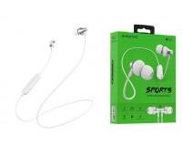 Наушники беспроводные Borofone BE32 Easygoing внутриканальные, Bluetooth, коробка, белый