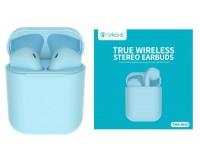 Наушники беспроводные Celebrat W10 TWS внутриканальные, Bluetooth V5.0 кейс для хранения и зарядки в комплекте (емкостью 300 мАч) синий коробка