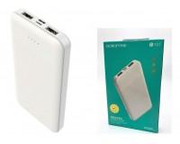 Портативное зарядное устройство Borofone BT27 Sea power 10000 мАч 1USB выход 5В/2А, 2USB выход 5В/2А, суммарный 5В/2А, белый