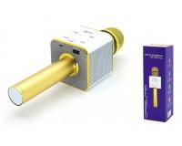 Микрофон Орбита OT-ERM-04 беспроводной, Bluetooth 5.0, аккумулятор 1200mAh, золото