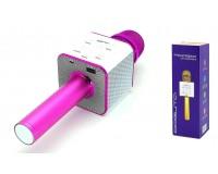 Микрофон Орбита OT-ERM-04 беспроводной, Bluetooth 5.0, аккумулятор 1200mAh, фиолетовый