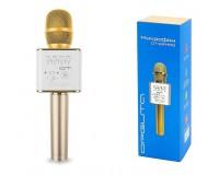 Микрофон Орбита OT-ERM-05 беспроводной, Bluetooth 5, 0, аккумулятор 1200mAh, золото