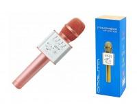 Микрофон Орбита OT-ERM-05 беспроводной, Bluetooth 5, 0, аккумулятор 1200mAh, розовый