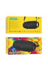 Акустическая система mini MP3 Borofone BR12 Amplio 10Вт Bluetooth 5.0, MP3, microSD, USB, AUX, TWS 1200 мАч черный