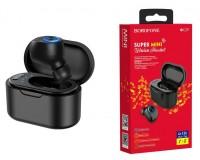 Наушники беспроводные Borofone BC29 Lambent Mini вкладыши, Bluetooth 5, 0, мобильная, МОНО!!!!( 1 наушник), коробка, черный