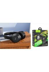 Наушники беспроводные HOCO W30 Fun move накладные, Bluetooth 5.0, коробка, черный