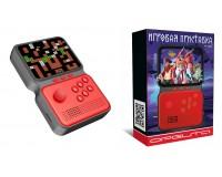 Приставка 8-16-32-bit Орбита OT-TYG06 дисплей 3, 5 дюйма, 900 встр игр + microSD, съёмный аккумулятор BL-5C -3.7V(850mA), красная