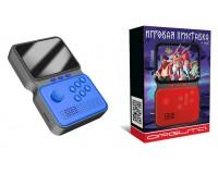 Приставка 8-16-32-bit Орбита OT-TYG06 дисплей 3, 5 дюйма, 900 встр игр + microSD, съёмный аккумулятор BL-5C -3.7V(850mA), синяя
