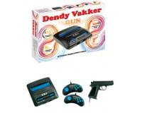 Приставка 8-bit Dendy Vakker 300 встроенных игр + световой пистолет