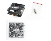 Вентилятор для корпуса Gembird D12038SM-3 120x120x38мм, 3pin, провод 40 см, втулка