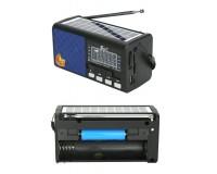 Приемник Fepe FP-256BT-S аккумуляторный, USB/microSD до 32Гб, Bluetooth, питание: аккумулятор 18650 (1200mA) - в комплекте, шнур ЗУ в комплекте