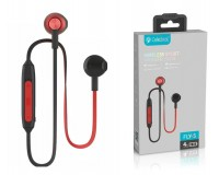 Наушники беспроводные Celebrat FLY-5 внутриканальные, Bluetooth, коробка, красный