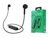 Наушники беспроводные Borofone BE27 Cool song внутриканальные, Bluetooth 5.0, коробка, черный