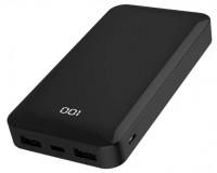 Портативное зарядное устройство GOLF G48 15000 мАч 1USB выход 5В/3А, LED дисплей/ PD + QC/ Type-C , 18 W, черный