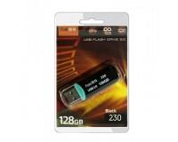 Флэш диск 128 GB USB 2.0 FaisON 230 черный с колпачком