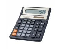 Калькулятор Perfeo PF-A4026 бухгалтерский, 12 разрядный, размер 15, 8х20х3, 5 см, черный