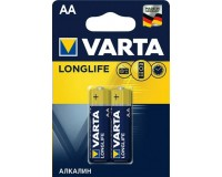 Батарейка Varta LR6 BL 2 LONGLIFE (4106)