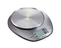 Весы кухонные Atlanta ATH-6194 электронные, цена деления 1 г. max 5 кг. индикатор перегрузки, автоотключение, LED дисплей, сталь серебро