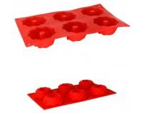 Форма для выпечки кексов Pomid'oro P-590074 Mileda размер 28, 5*17*2, 8 см