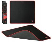Коврик для мыши Defender Black XXL Игровой 400х355х3мм, термически обработанная ткань, натуральная резина, нескользящее основание