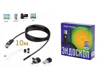 Эндоскоп USB для смартфонов Орбита OT-SME12 1 Мп (CMOS 1/9) 1280*720 длина кабеля: 10м., Micrо-USB/USB, Android 4.1 и выше, Windows 2000/XP/Vista/7/10