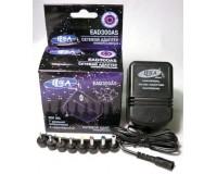 Блок питания ELECA EAD 300AS 300mA 3-12V 8 штекеров, коробка