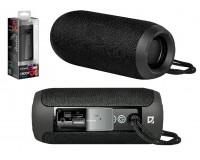 Акустическая система mini MP3 Defender Enjoy S700 10Вт Bluetooth, MP3, FM-радио, microSD, USB, аккумулятор Li-Ion 1200mA, функция Hands free, True Wireless Stereo (TWS), Размер: 6.5x6.5x16.0 см черный