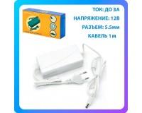 Блок питания для камеры Орбита OT-APB41 3000mA, 12В, Jack 5, 5 mm, белый