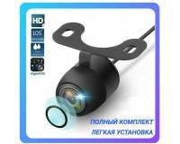 Автовидеокамера TDS TS-CAV15 разрешение:600ТВЛ угол обзора до 170, IP68, видео выход: RCA